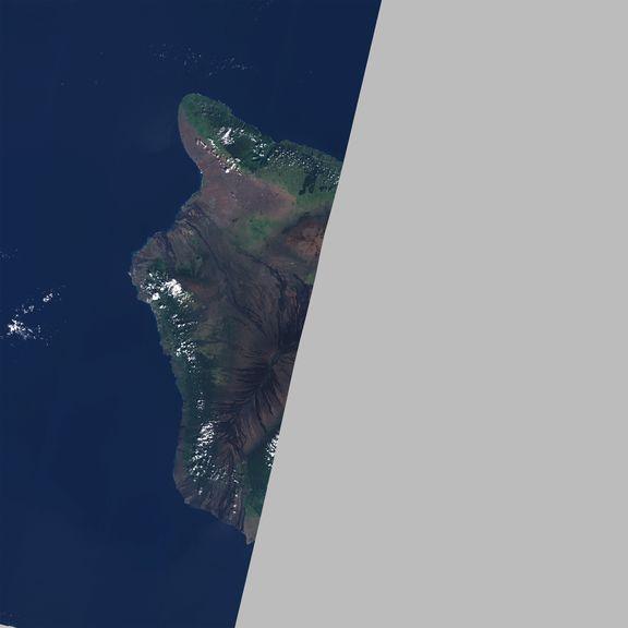 December 1, 2020 Sentinel-2 image of the big island
