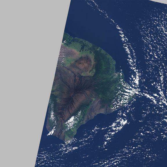 December 28, 2020 Sentinel-2 image of the big island