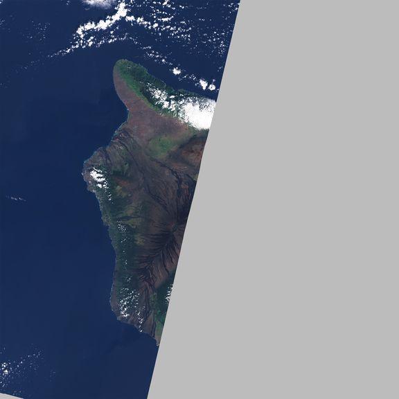 January 5, 2021 Sentinel-2 image of the big island