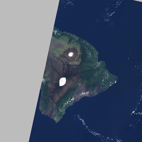 February 6, 2020 Sentinel-2 image of the big island