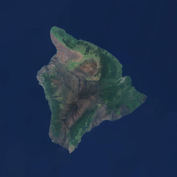 Our Hawaii satellite image after cloud cleanup.