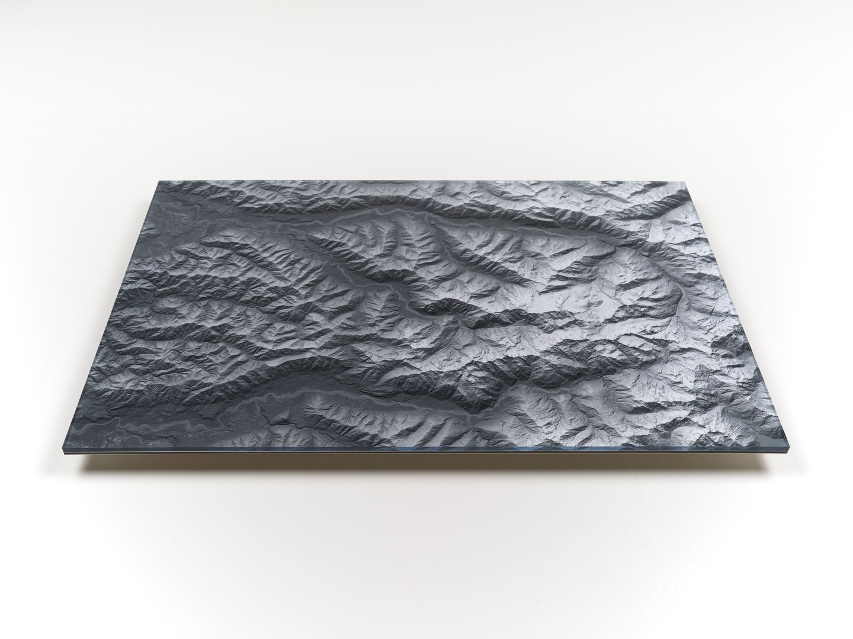 Mount Olympus Acrylic Wall Map