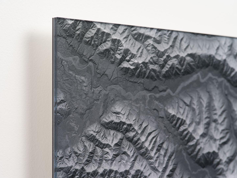 Mount Olympus Acrylic Corner Detail