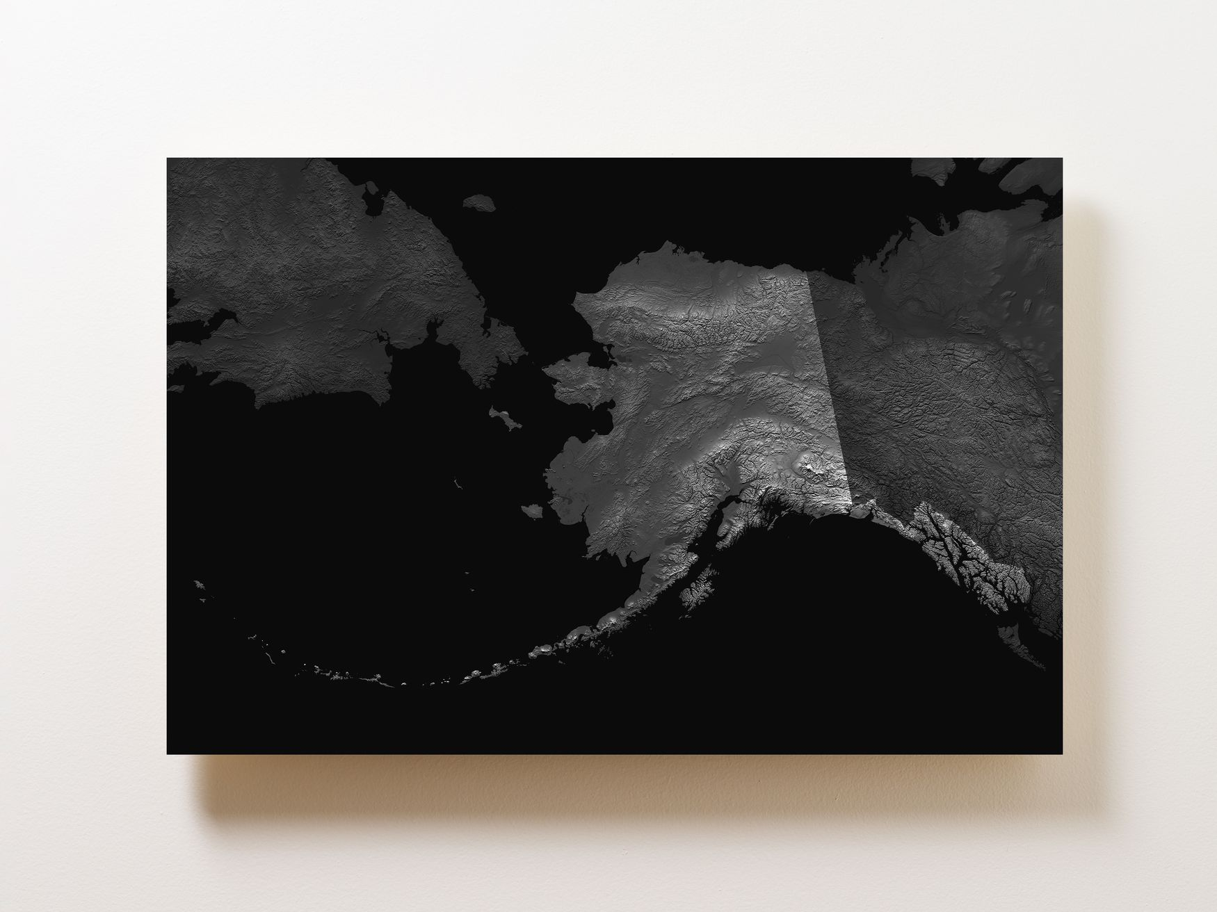 Alaska Wall Map