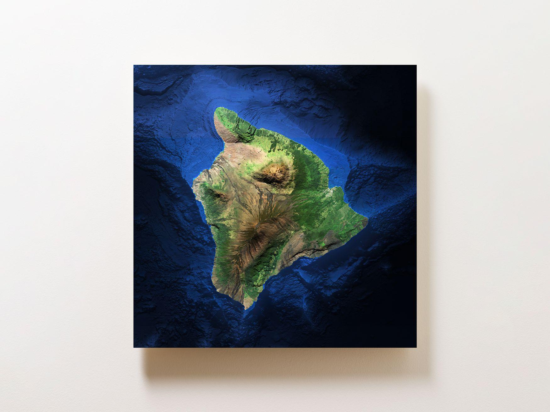 Big Island of Hawaii Wall Map