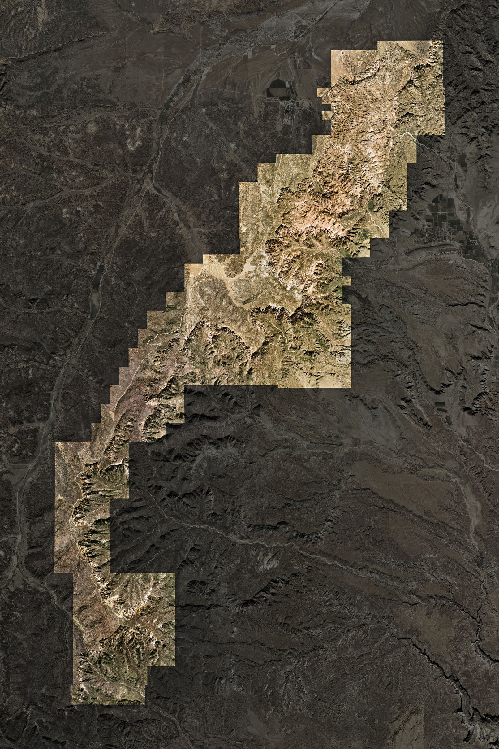 Map of Bryce Canyon National Park