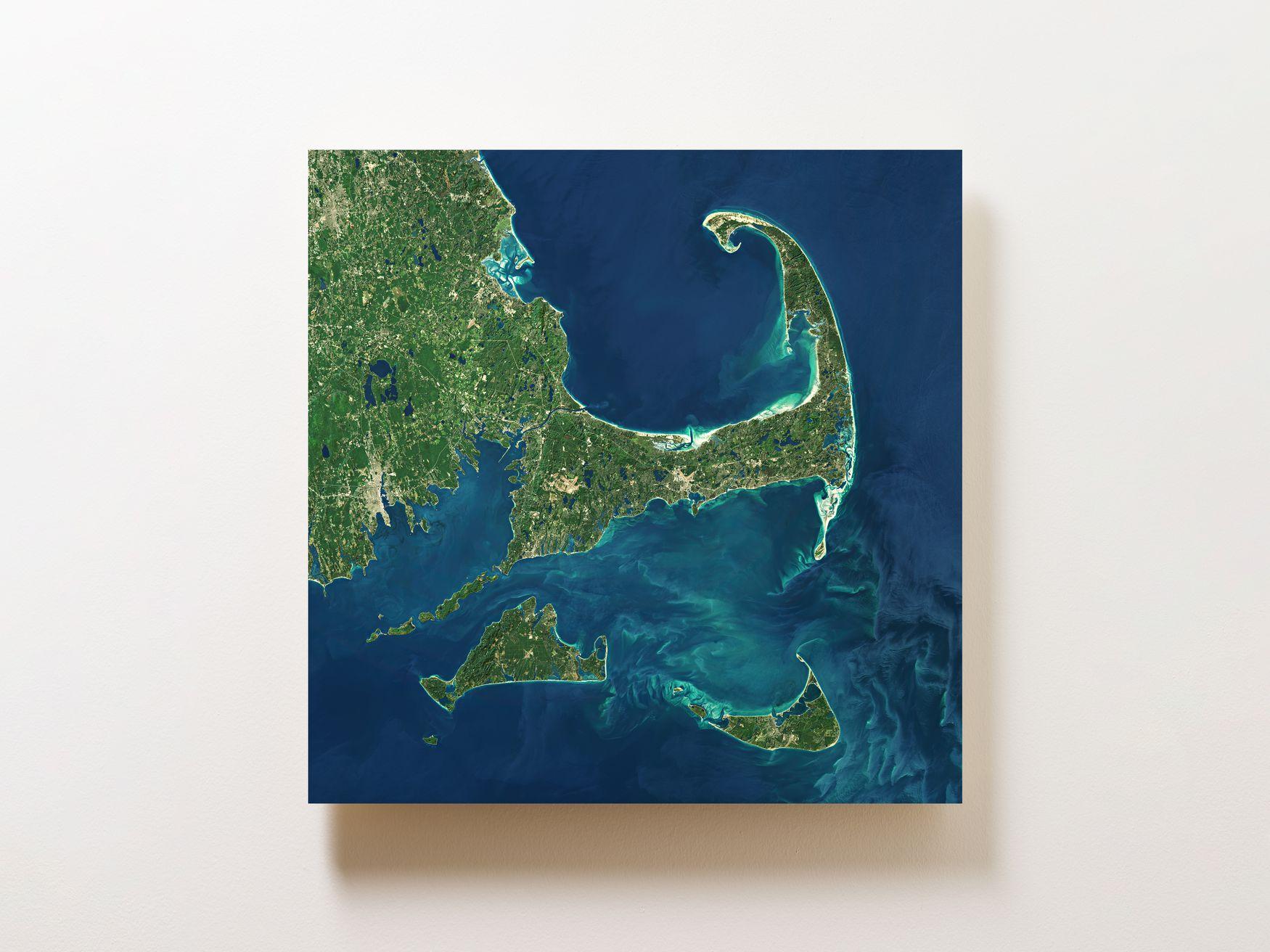 Cape Cod Wall Map