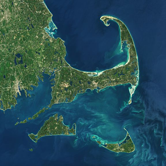 Cape Cod & the islands map