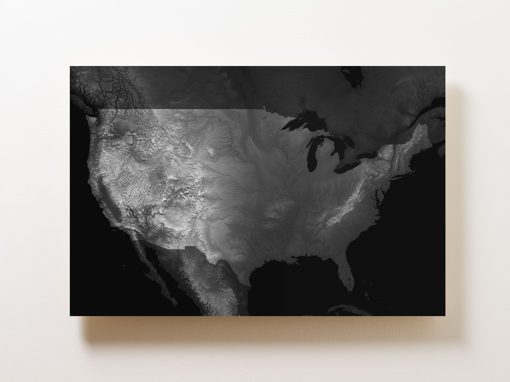Contiguous US Wall Map