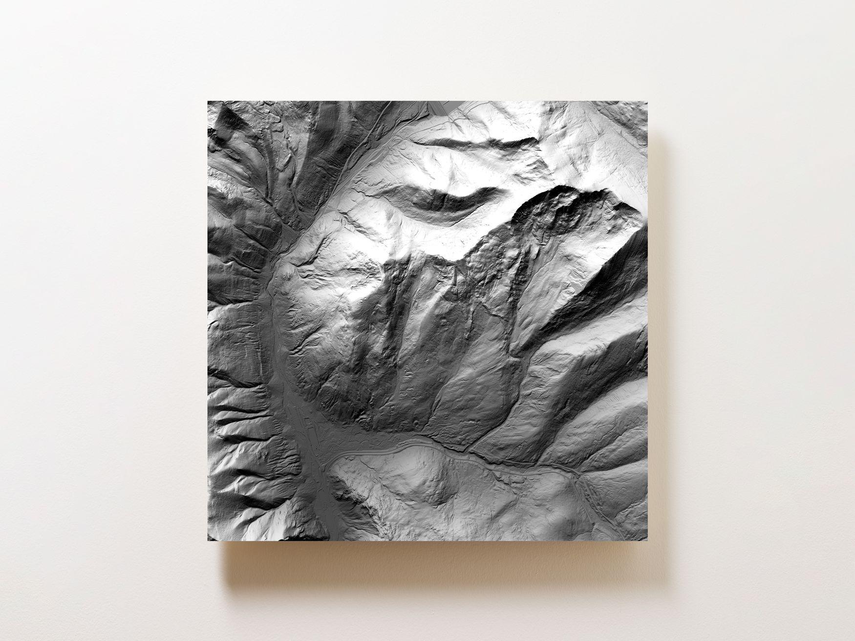 Copper Mountain Wall Map
