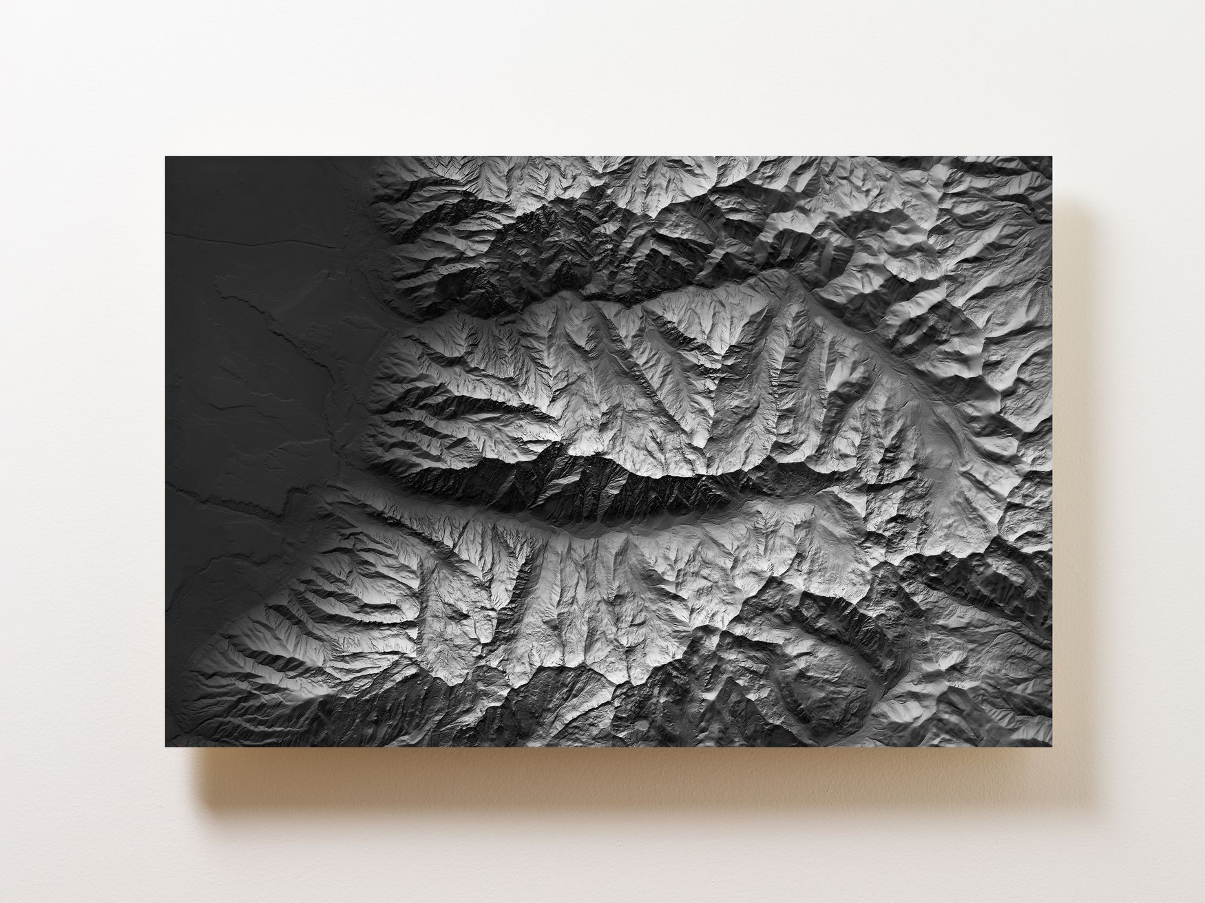 Cottonwood Canyons Wall Map