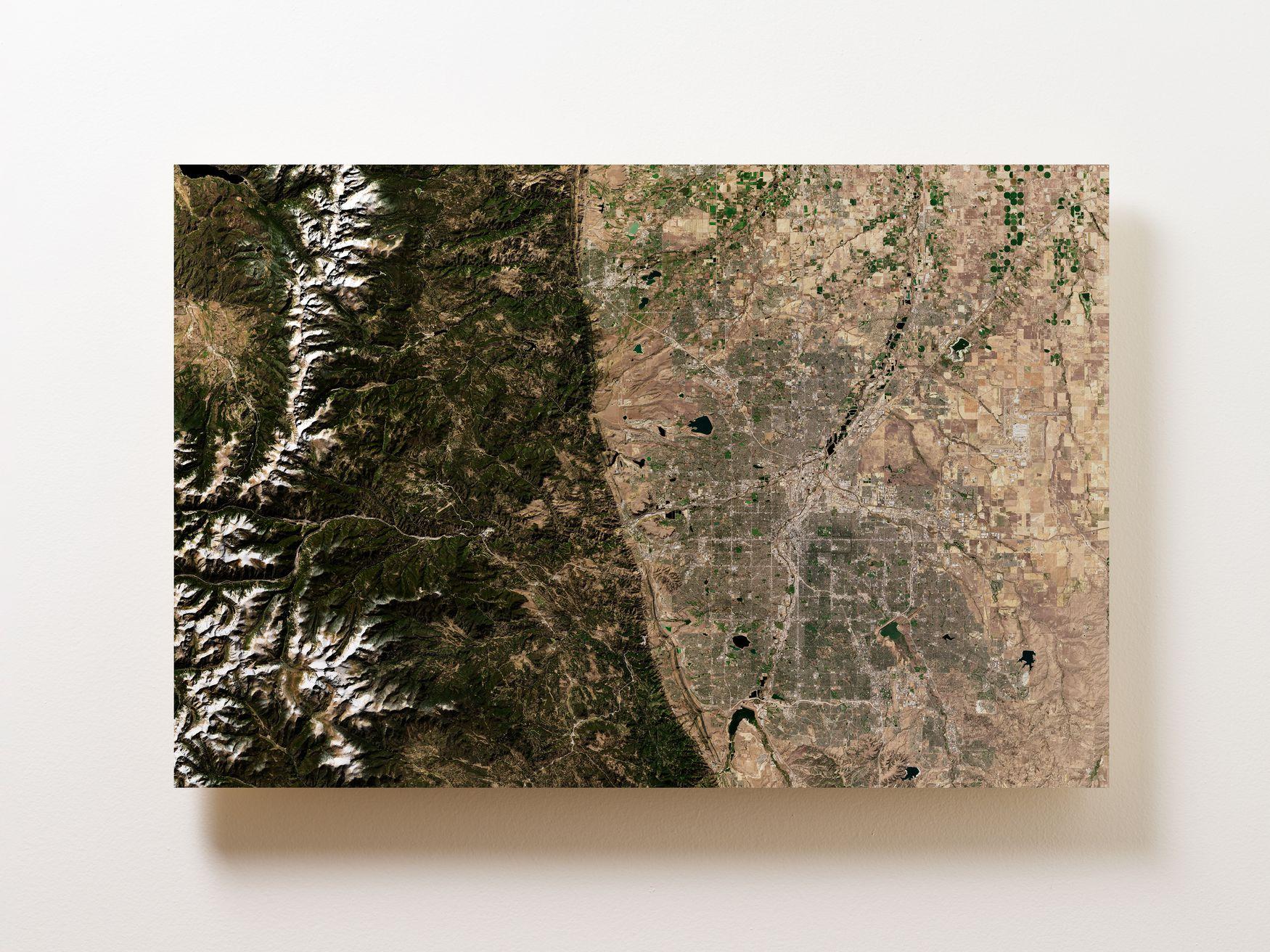 Denver Wall Map