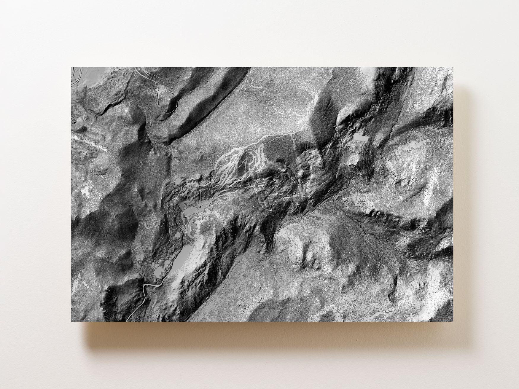 Eldora Mountain Wall Map