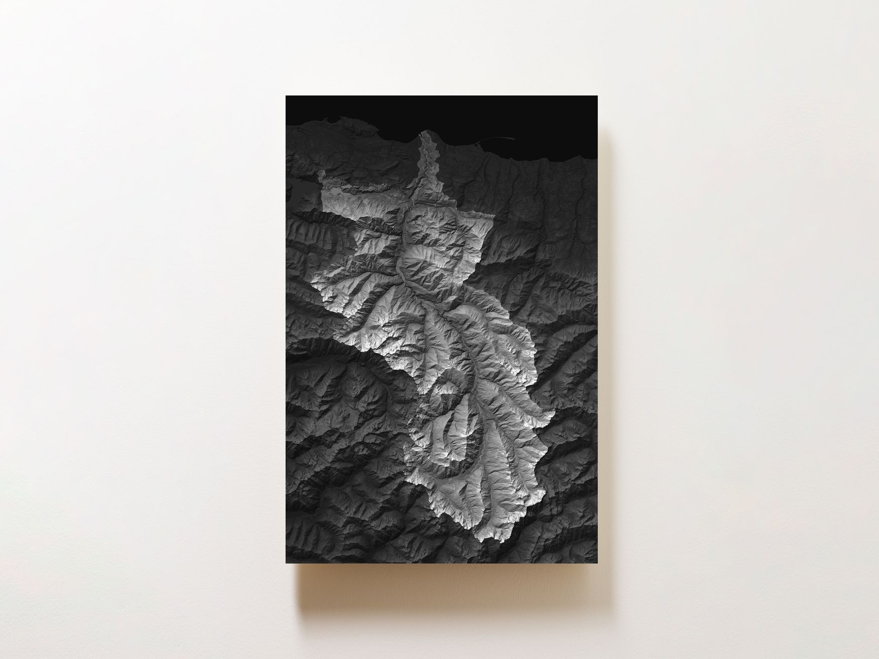 Elwha River Wall Map