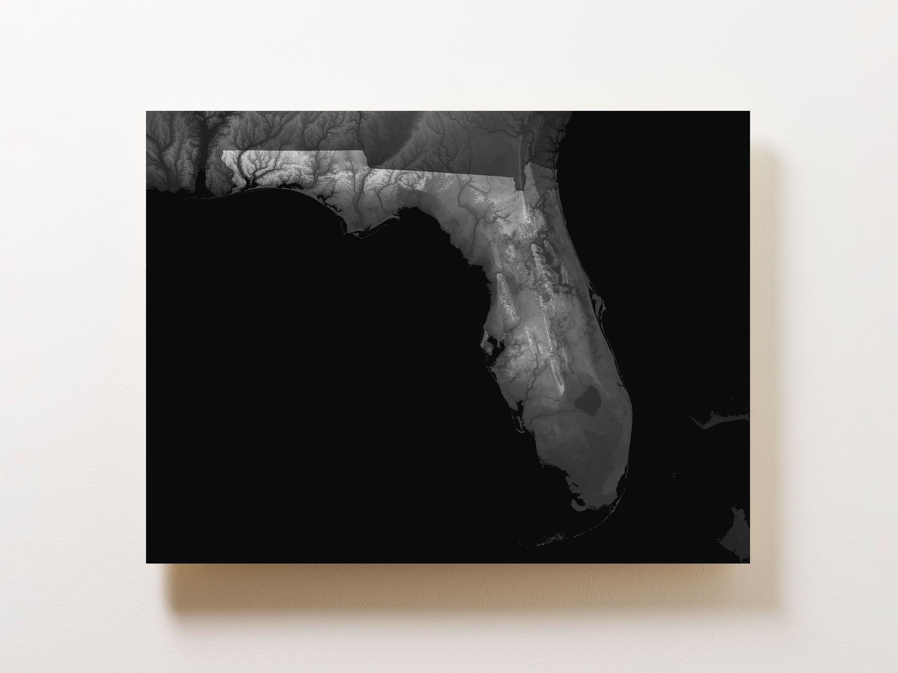Florida Wall Map