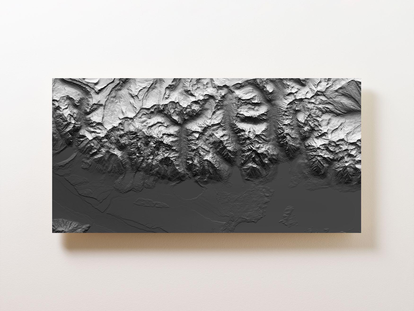 Grand Teton Wall Map