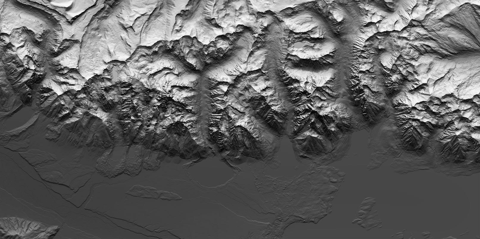 Map of Grand Teton