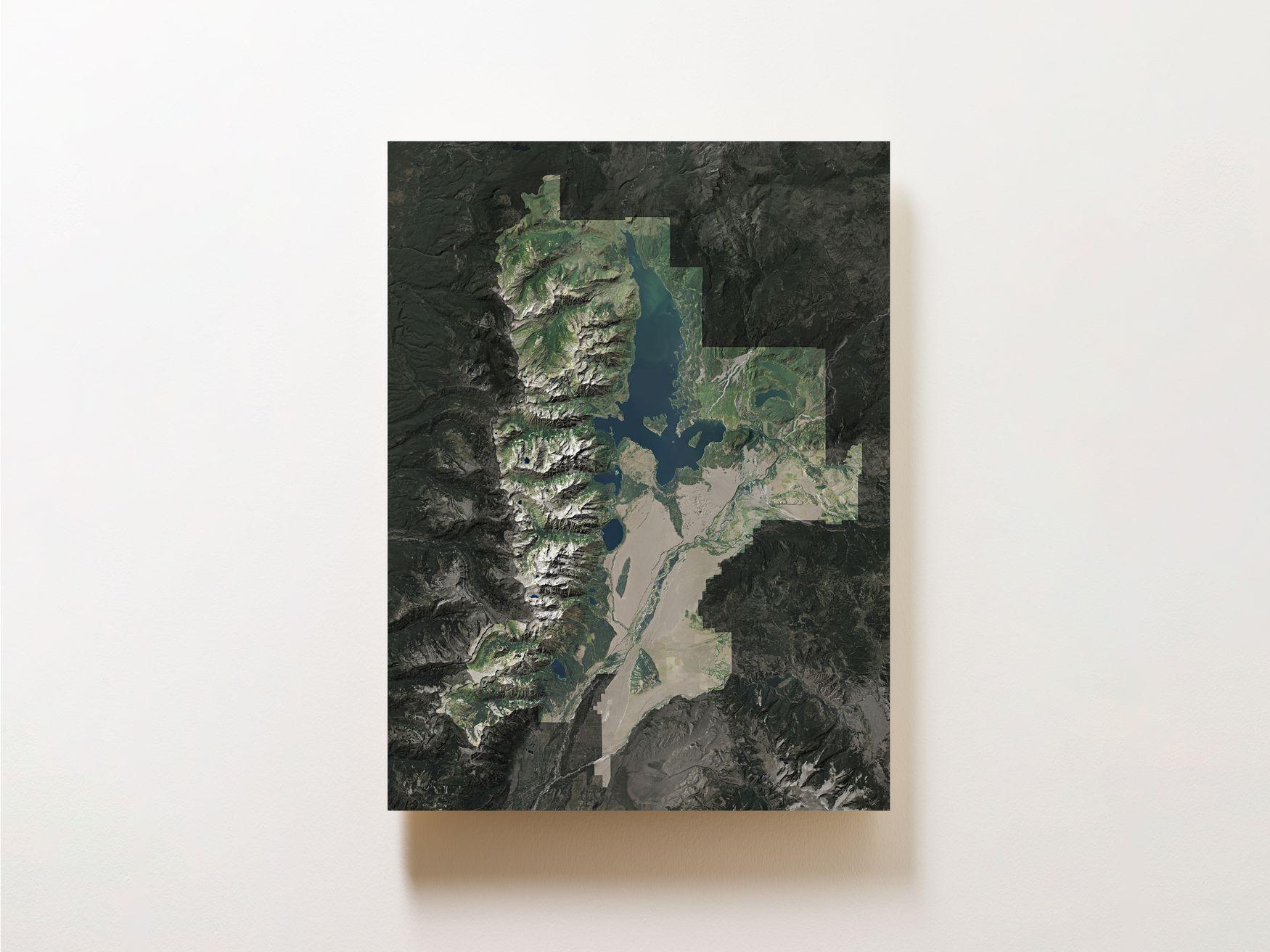 Grand Teton National Park Wall Map