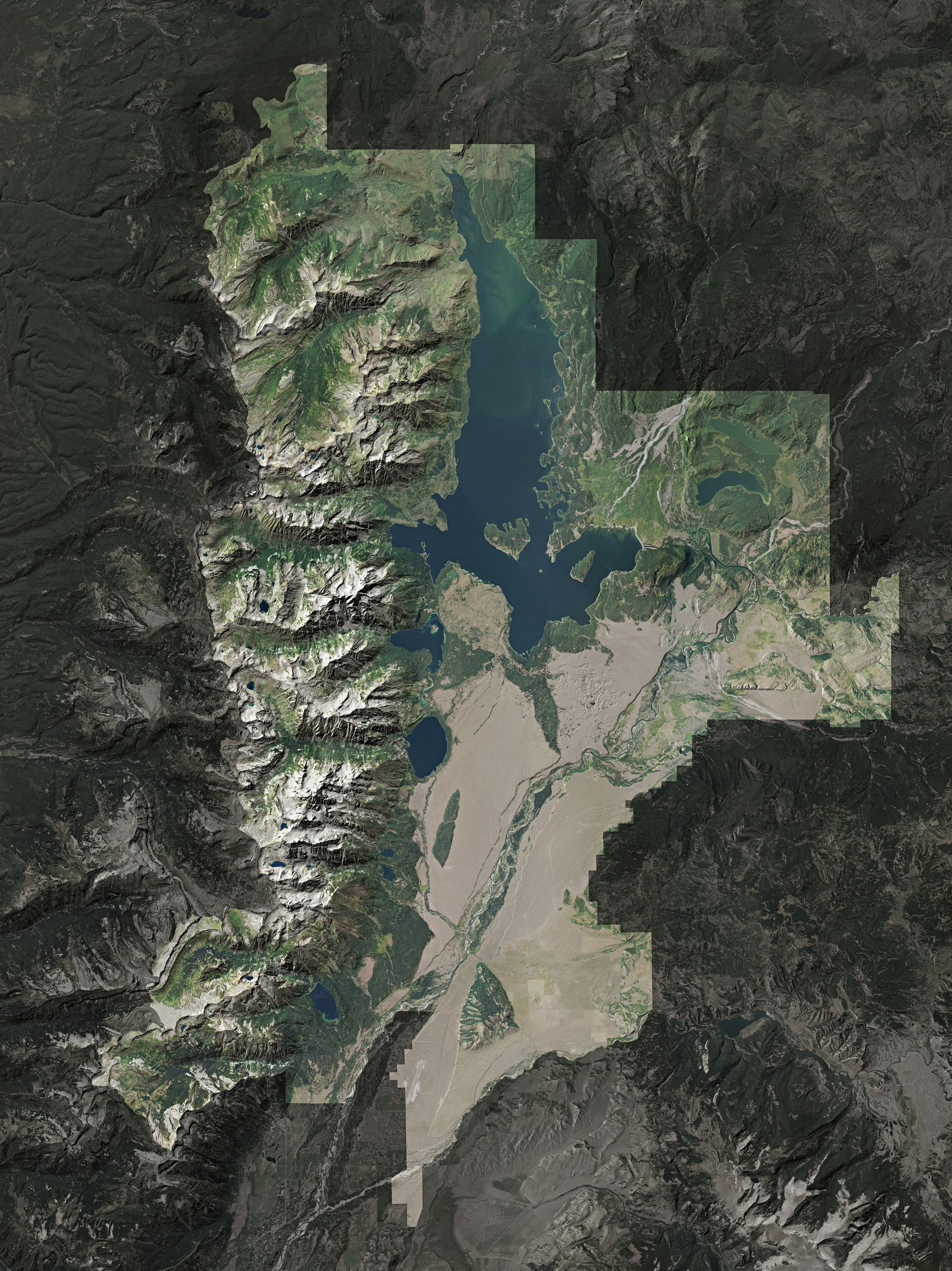 Map of Grand Teton National Park