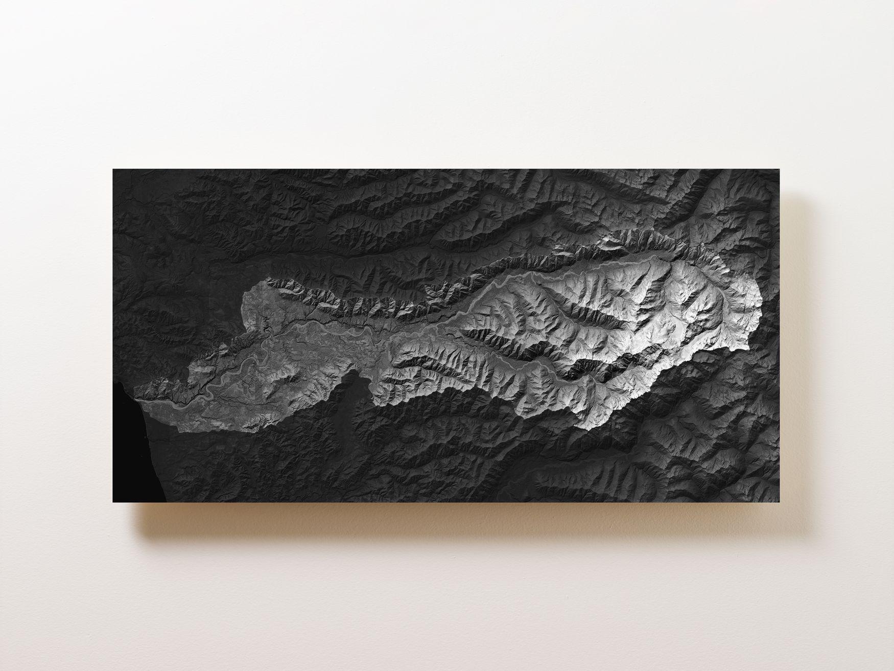 Hoh River Rainforest Wall Map