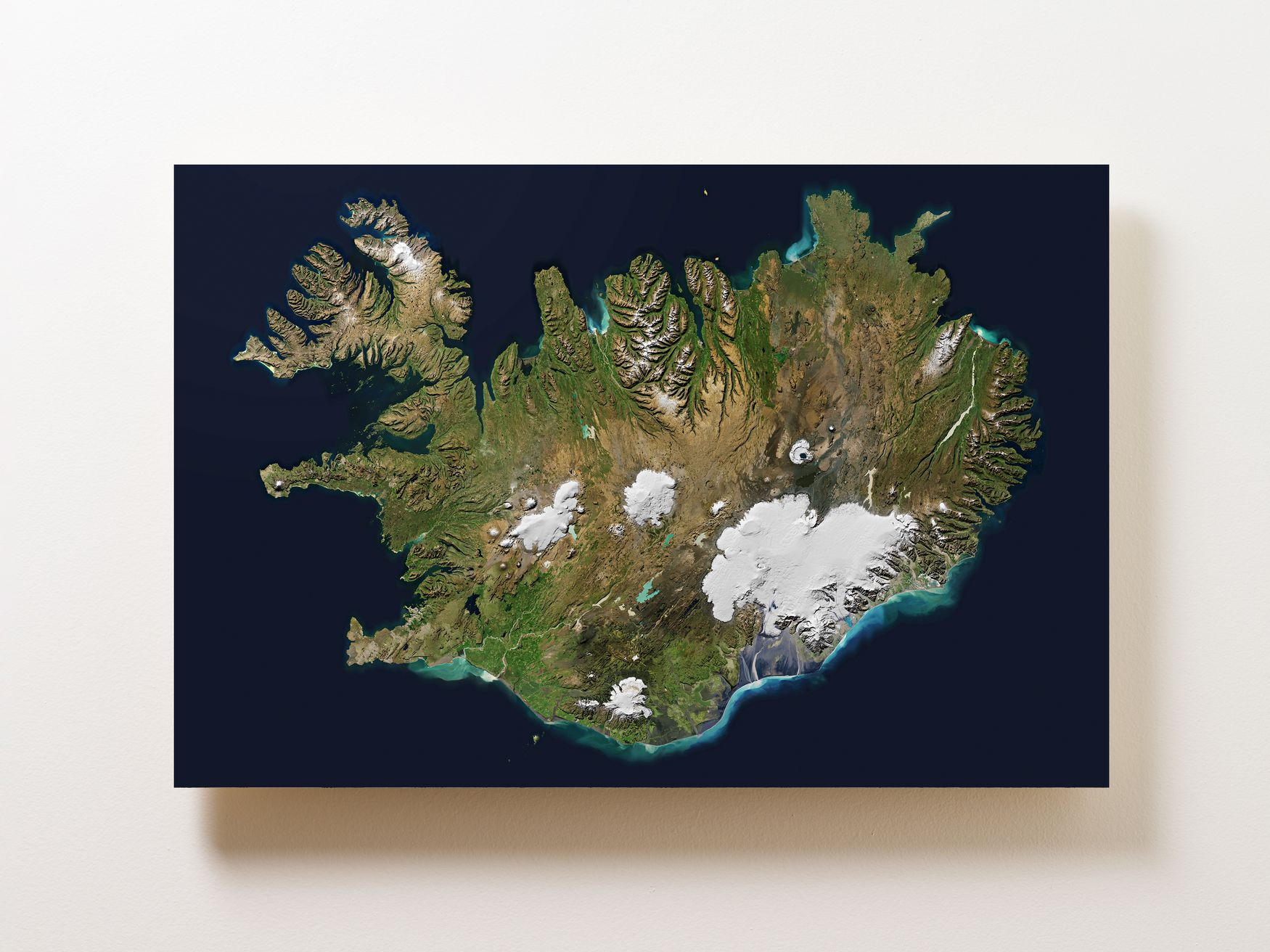 Iceland Wall Map