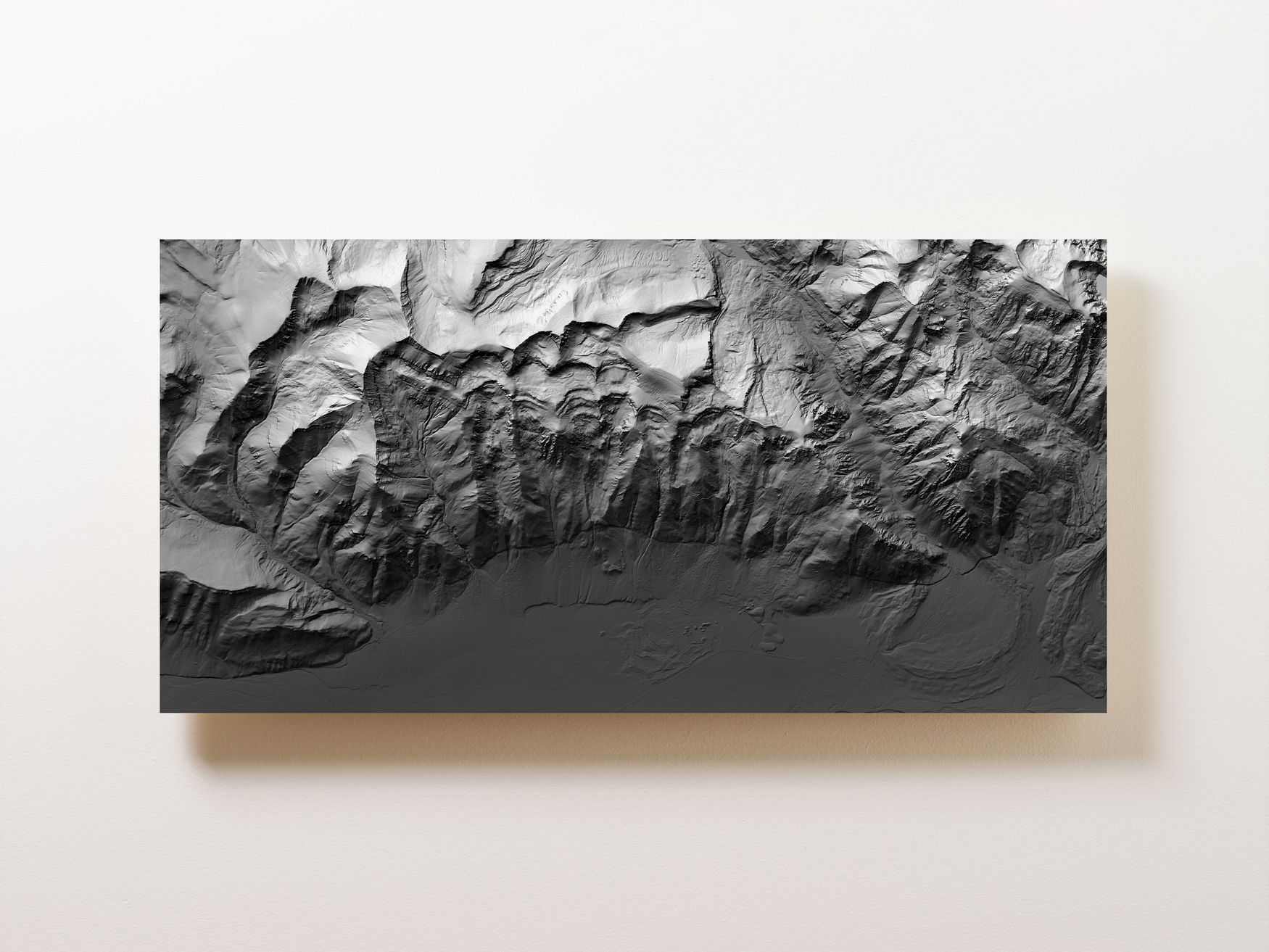 Jackson Hole Wall Map