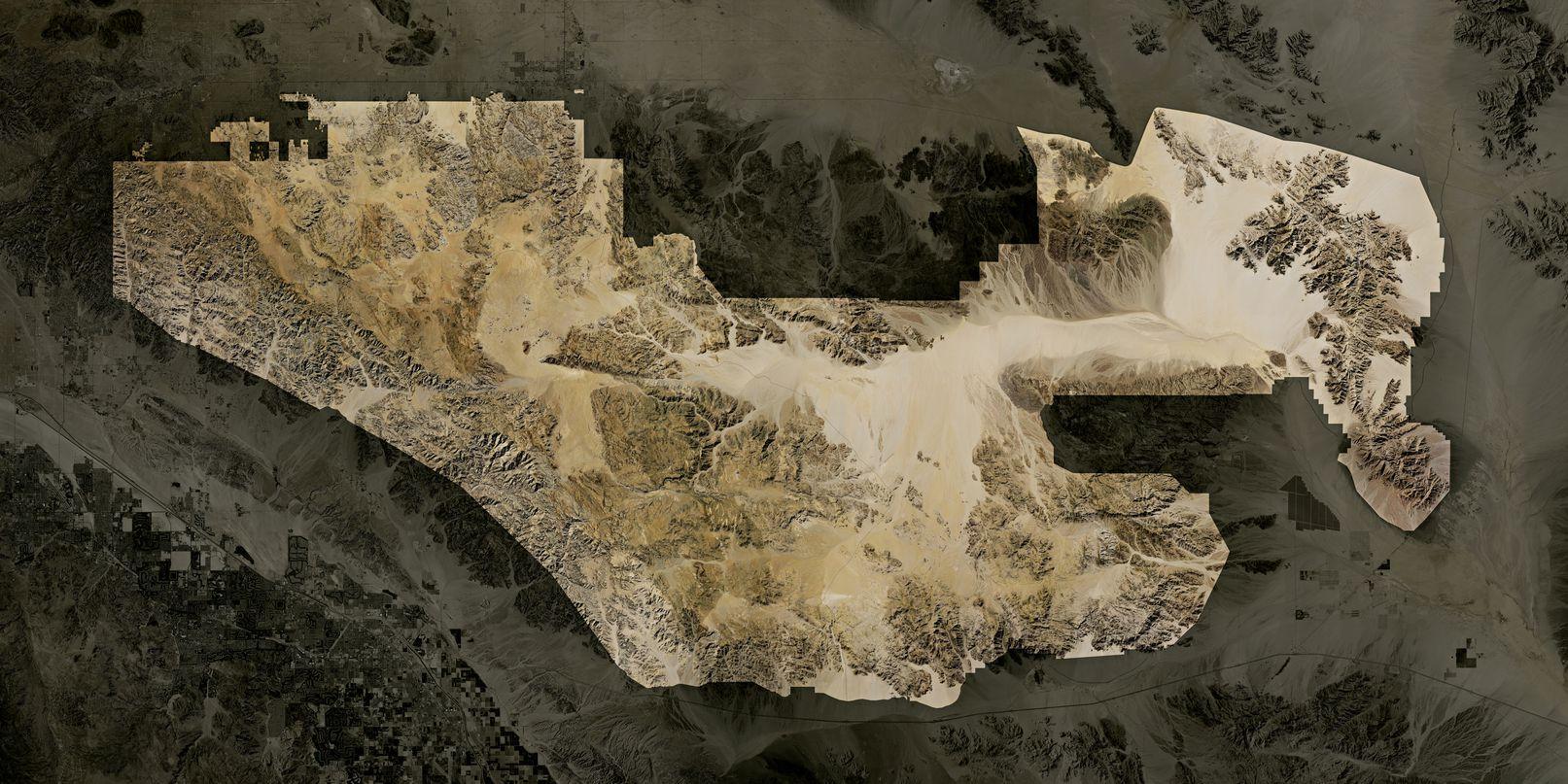 Map of Joshua Tree National Park
