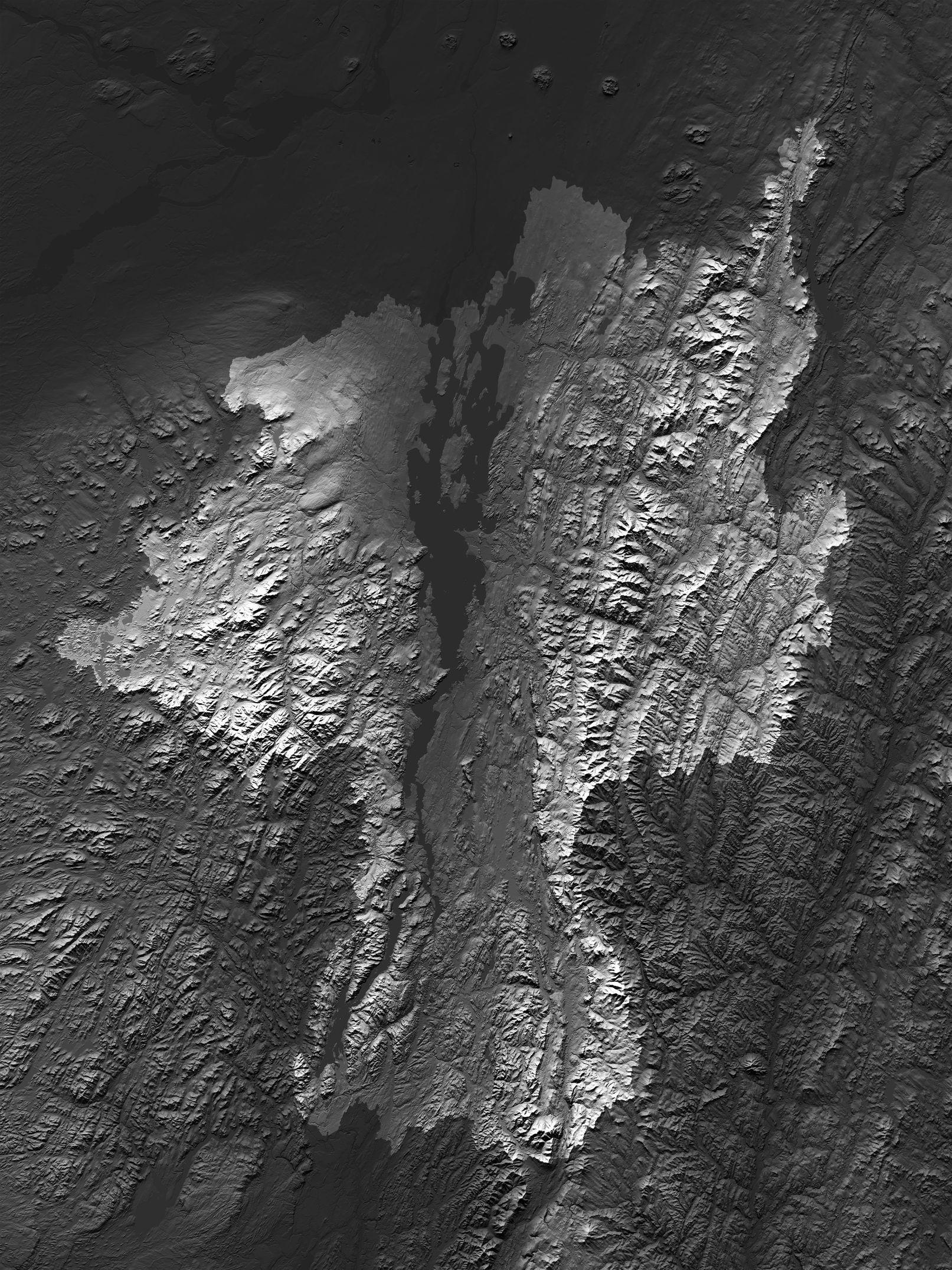 Map of Lake Champlain Basin