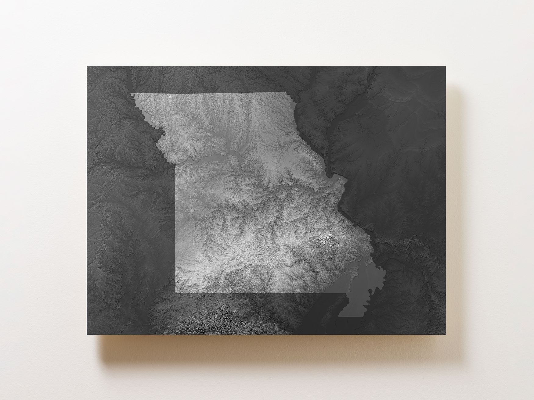 Missouri Wall Map