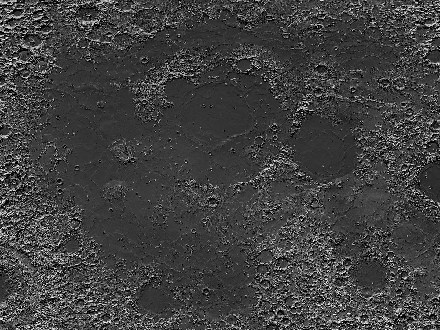 Moon Map Detail