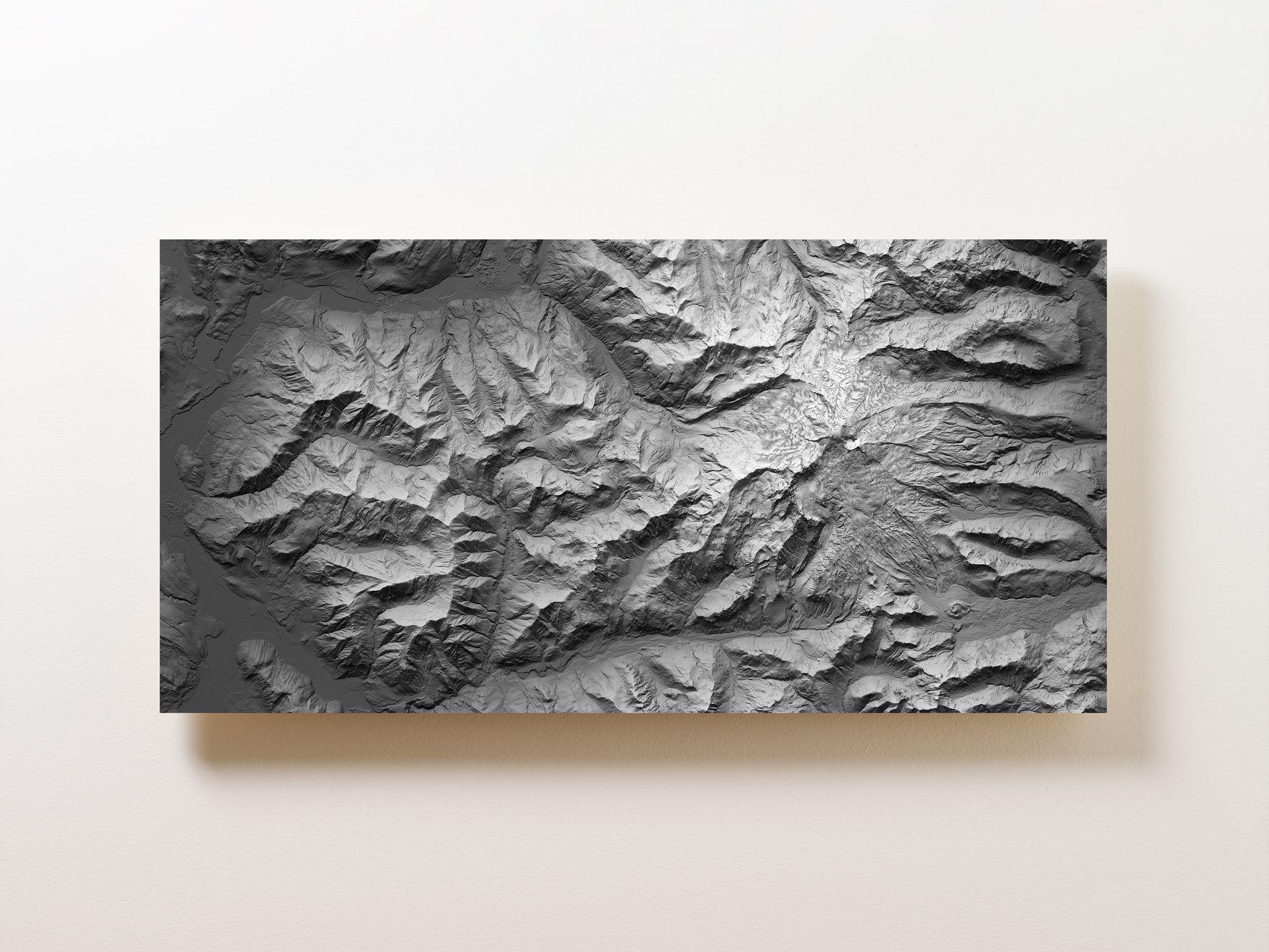 Mount Baker Wall Map