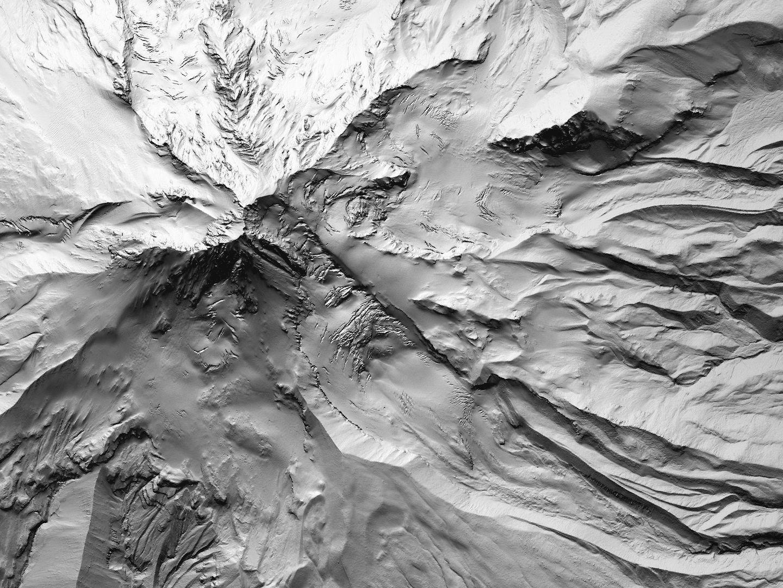 Mount Hood Detail