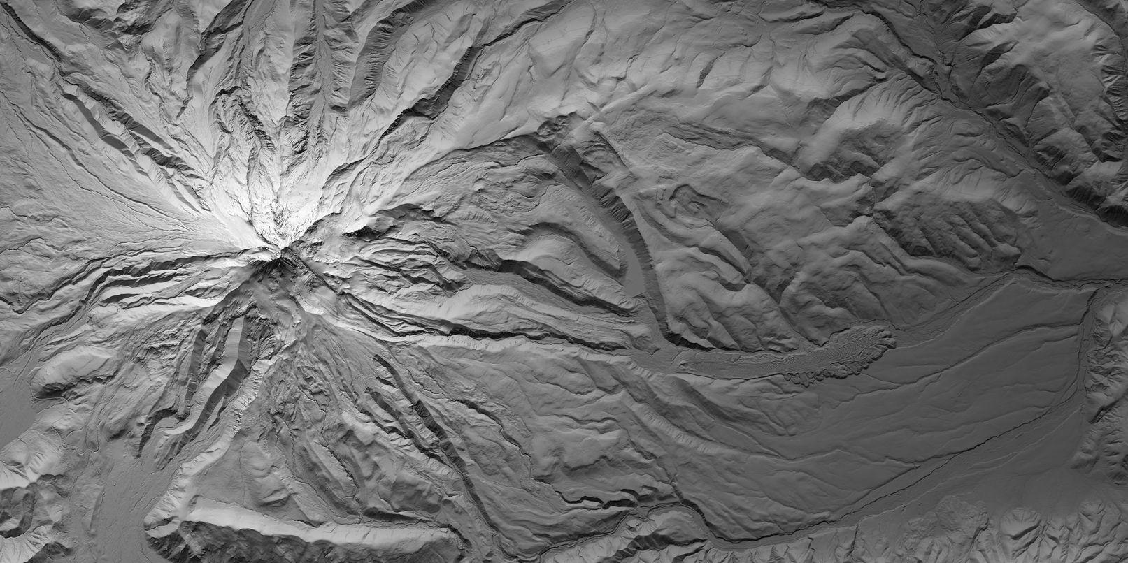 Map of Mount Hood