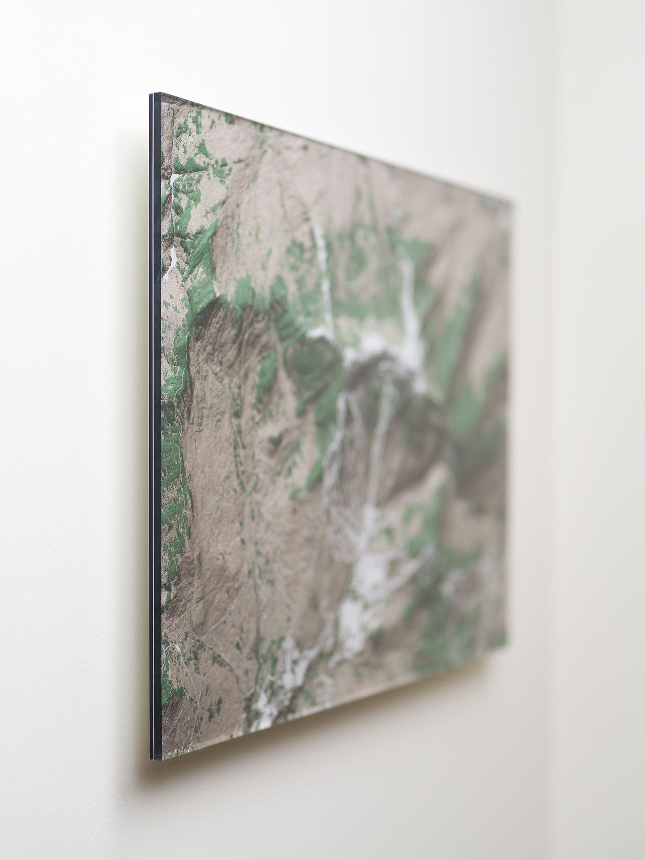 Mount Mansfield Acrylic Map