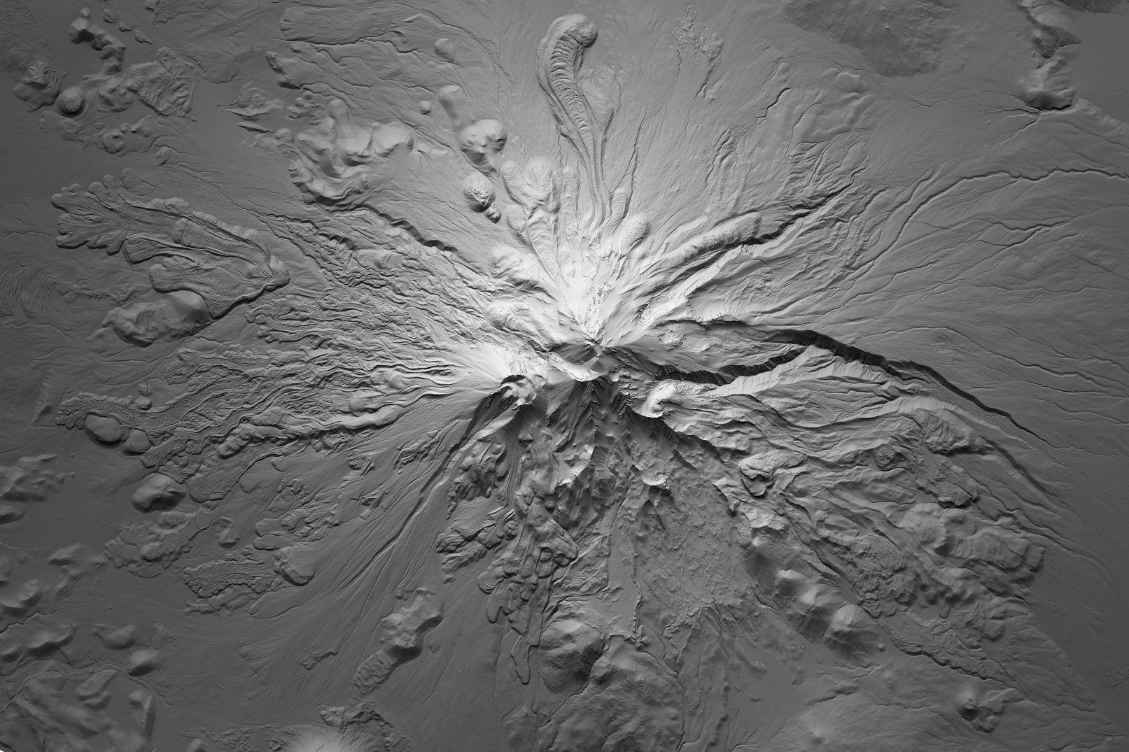 Map of Mount Shasta
