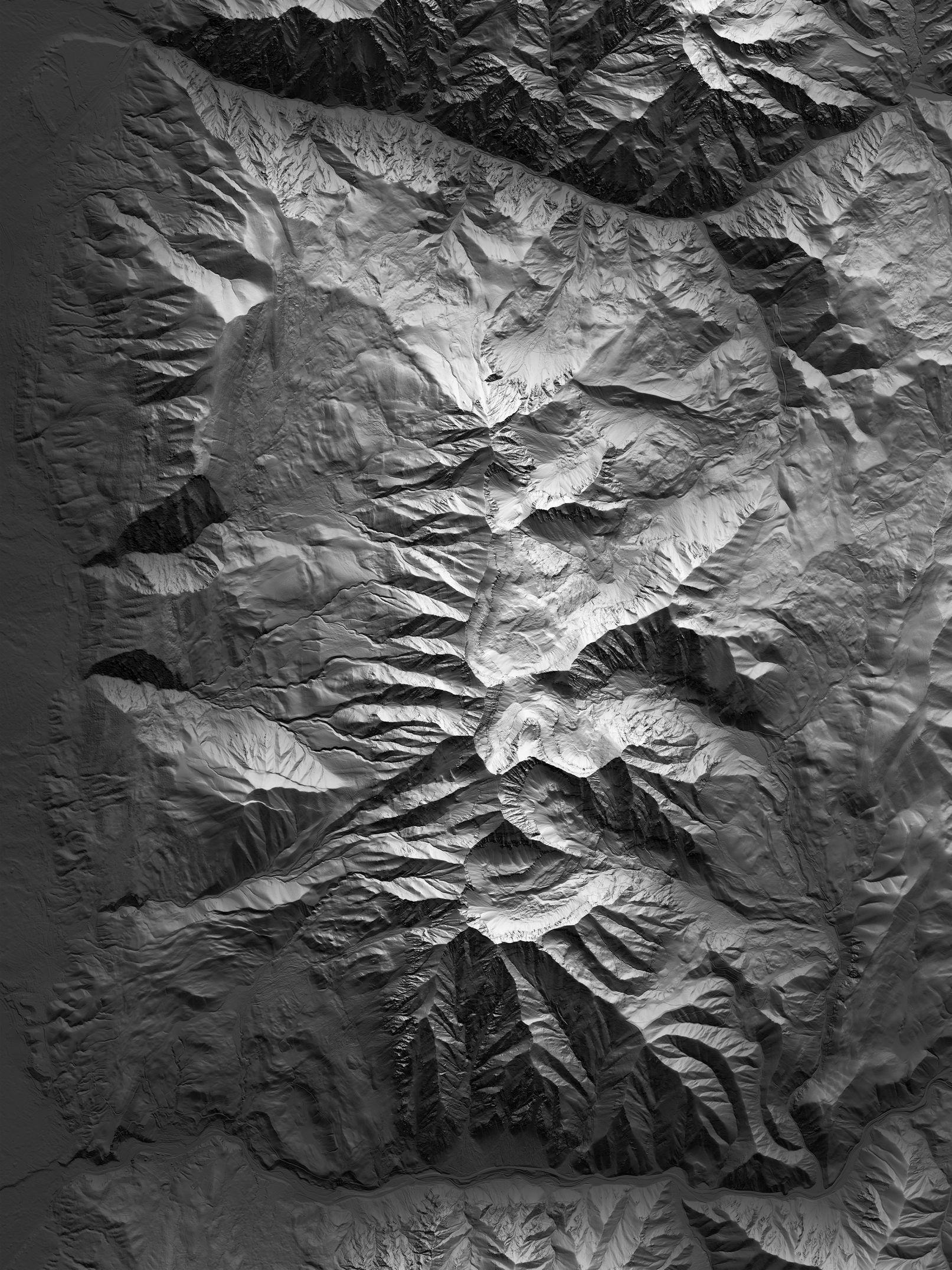 Map of Mount Timpanogos
