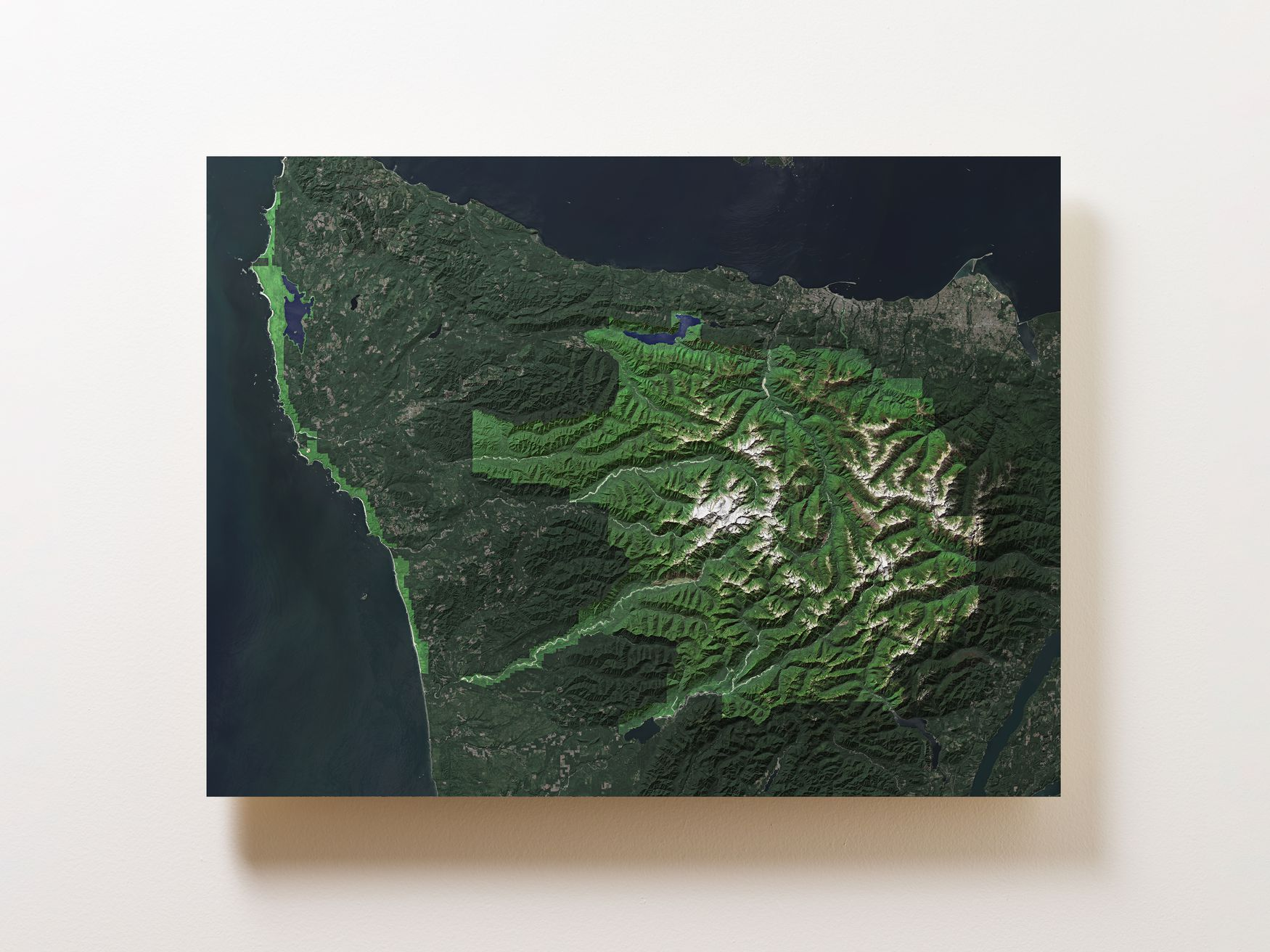 Olympic National Park Wall Map