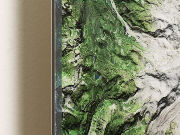 Preview image for If Google Earth Were Designed For Your Wall