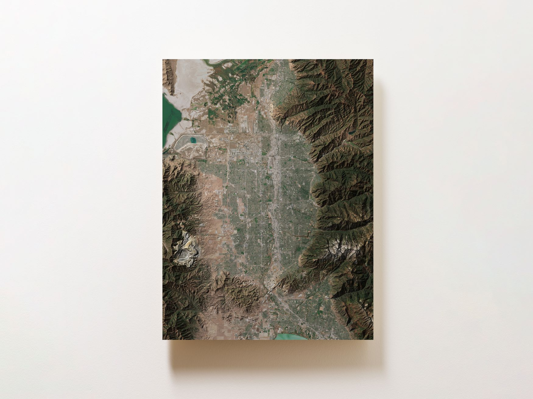 Salt Lake City Wall Map