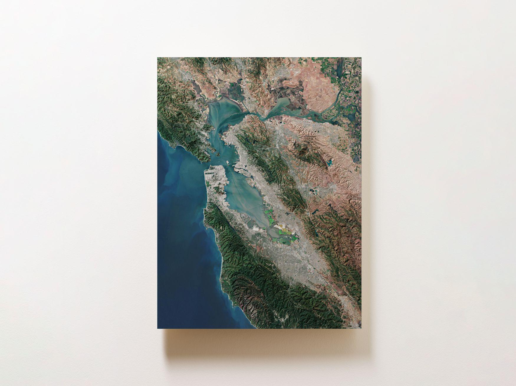 San Francisco Bay Area Wall Map