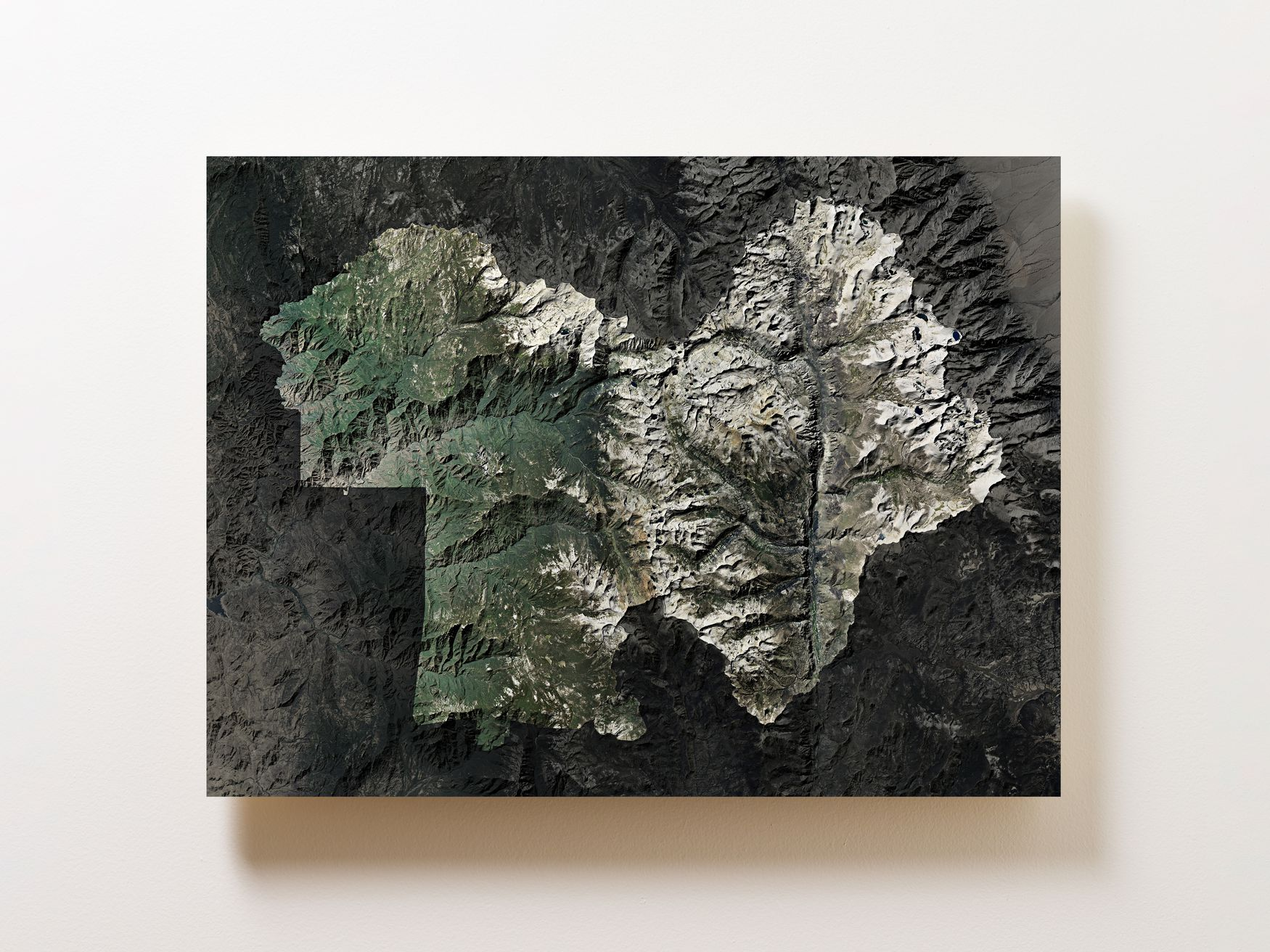 Sequoia National Park Wall Map