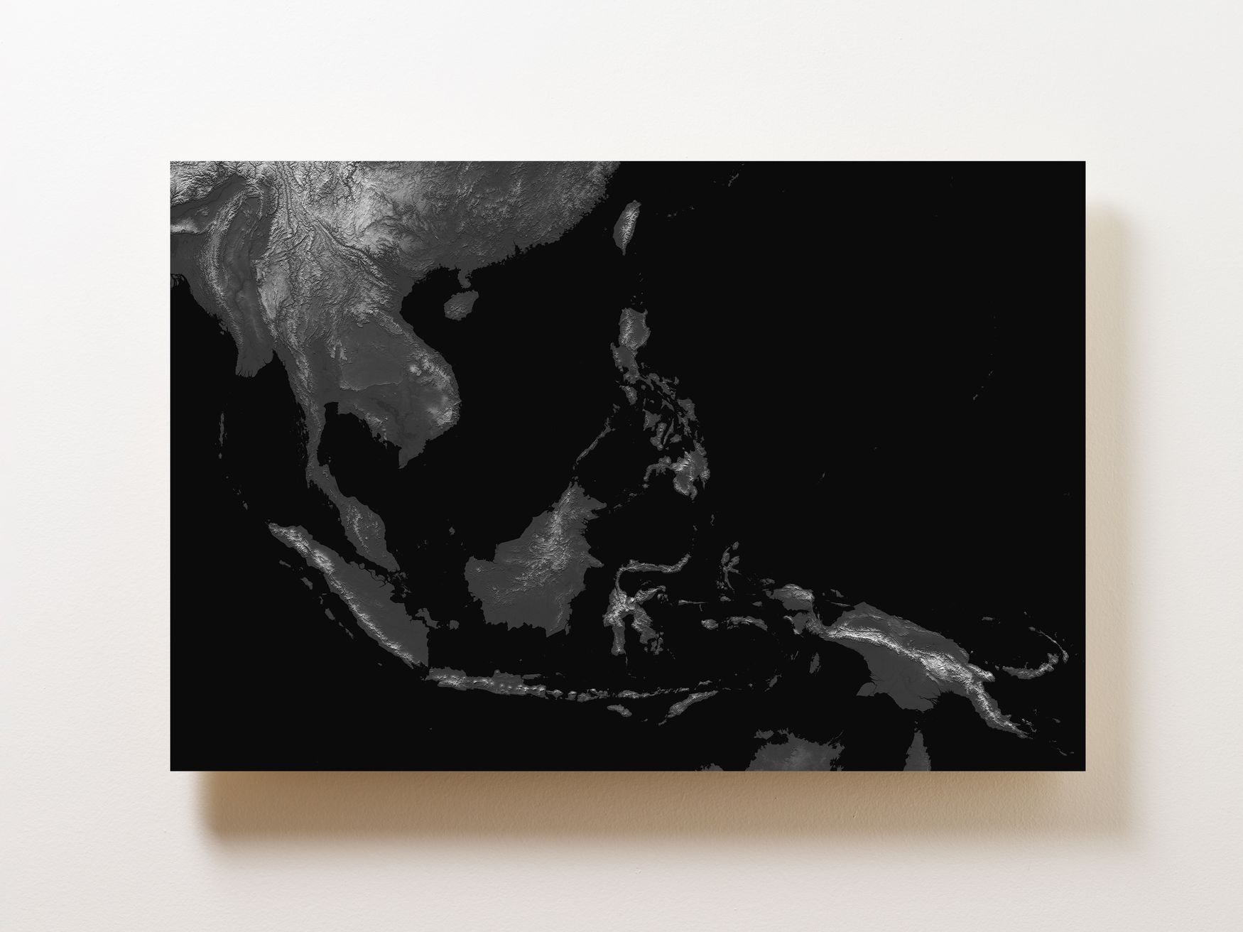 Southeast Asia Wall Map