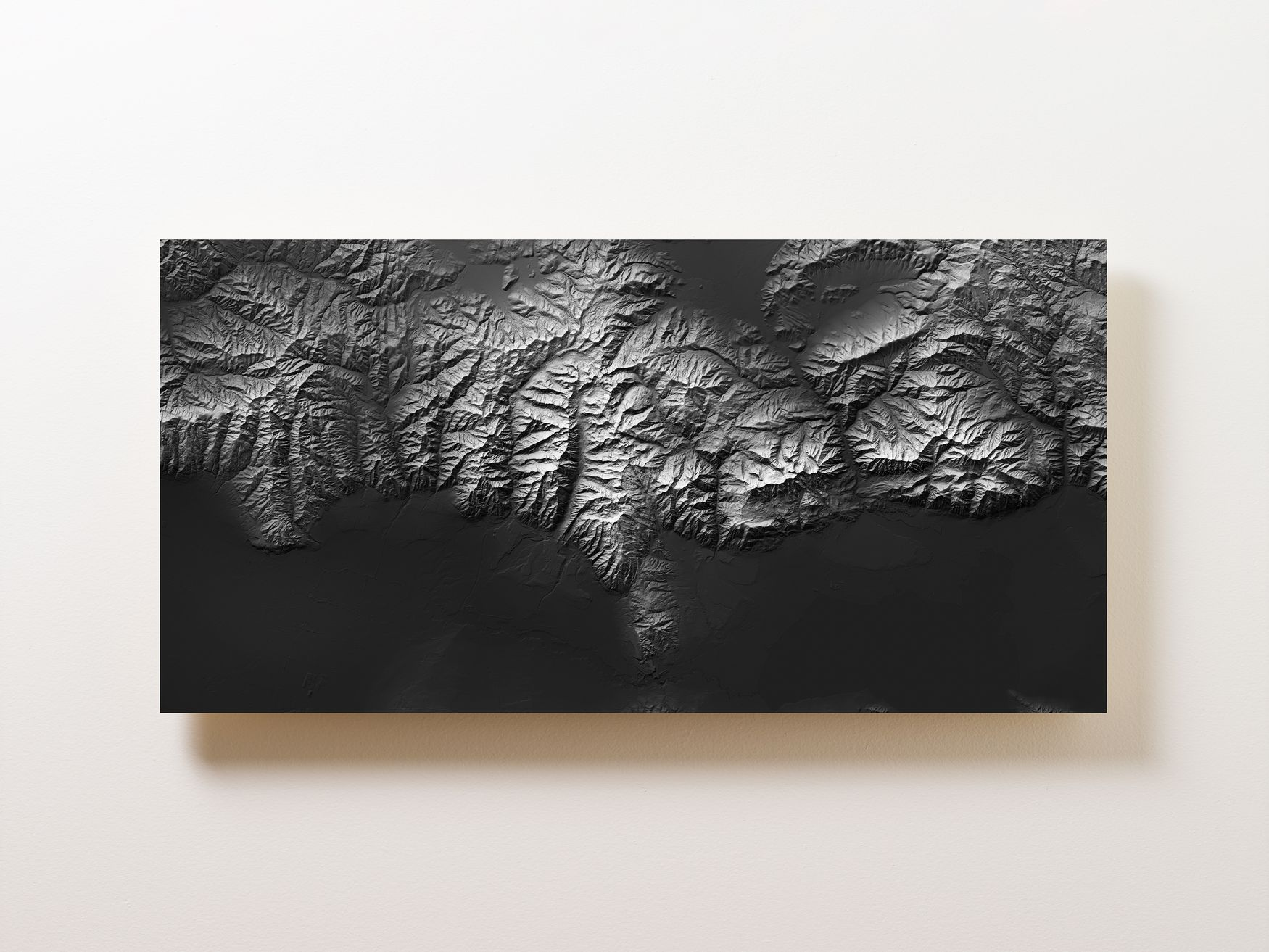 Wasatch Range Wall Map